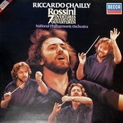 LP - Rossini/ National Philharmonic Orchestra , Riccardo Chailly - 7 Overtures - Digital Recording