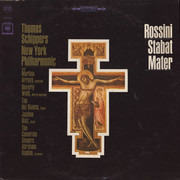 LP - Gioacchino Rossini , Thomas Schippers , The New York Philharmonic Orchestra With Martina Arroyo , B - Stabat Mater - Pitman Pressing