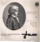 LP - Pergolesi - A. Jaunet, De Stoutz w/ Zürcher Kammerorchester - Concertino