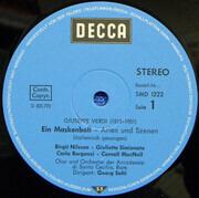 LP - Giuseppe Verdi - Birgit Nilsson • Giulietta Simionato , Carlo Bergonzi • Cornell MacNeil , Tom Krau - Ein Maskenball