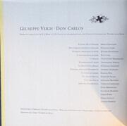 LP-Box - Verdi - Santini - Don Carlos - Mono / Hardcoverbox + Booklet / missing record!