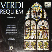 Double LP - Giuseppe Verdi - Boris Christoff , Eugenio Fernandi , Fiorenza Cossotto , Shakeh Vartenissian - Cor - Requiem (Gesamtausgabe) - Gatefold Sleeve