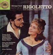 LP - Giuseppe Verdi - Rigoletto / Großer Querschnitt