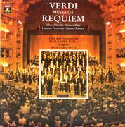Double LP - Giuseppe Verdi - Cheryl Studer , Dolora Zajick , Luciano Pavarotti , Samuel Ramey , Coro Del Teatro - Messa Da Requiem - Gatefold