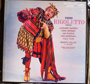 Double LP - Giuseppe Verdi - Leonard Warren , Erna Berger , Jan Peerce , Nan Merriman , The Robert Shaw Chorale - Rigoletto - Box Set
