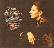 Double CD - Giuseppe Verdi - Maria Callas , Giuseppe di Stefano , Tito Gobbi , Fedora Barbieri , Eugenia Ratti - Un Ballo In Maschera