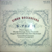 LP-Box - Verdi - Simon Boccanegra - Hardcoverbox + booklet / Red seal