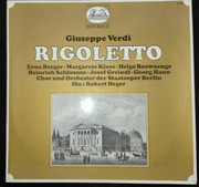 Double LP - Verdi - Rigoletto - Gatefold / Club edition / Mono