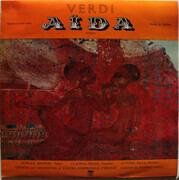 LP - Giuseppe Verdi , Achille Braschi , Claudia Prada , Ettore Nava , Coro Del Teatro Comunale Di Firenz - Aida