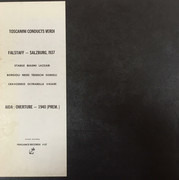 LP-Box - Verdi (Toscanini) - Falstaff / Aida Overture - Private record / textured Hardcoverbox + booklet