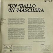 Double LP - Verdi - Beniamino Gigli - Un Ballo In Maschera - Mono