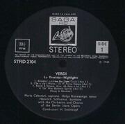 LP - Giuseppe Verdi / Orchester Der Staatsoper Berlin And Chor Der Staatsoper Berlin - La Traviata