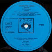 LP - Verdi - Falstaff - Blue eye stereo / Club edition
