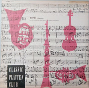 LP - Giuseppe Verdi - Fausto Manrico - Rigoletto