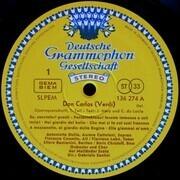 LP - Verdi/ Gabriele Santini , Orchestra Del Teatro Alla Scala ,A. Stella a.o. - Don Carlos - tulip rim