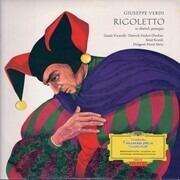 LP - Giuseppe Verdi , Gisela Vivarelli , Dietrich Fischer-Dieskau , Ernst Kozub , Horst Stein - Rigoletto - Tulip rim.