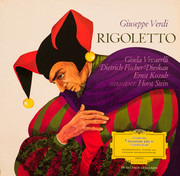 LP - Verdi - Rigoletto (Querschnitt, dt.)