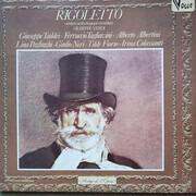 Double LP - Verdi - Rigoletto - Version Anthologique En Italien - Gatefold