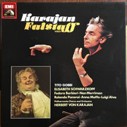 Double LP - Verdi (Karajan) - Falstaff - Hardcoverbox + booklet