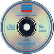 CD - Verdi - La Traviata (Highlights ∙ Sélection ∙ Auszüge)