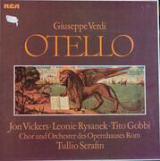 LP-Box - Giuseppe Verdi , Jon Vickers · Leonie Rysanek · Tito Gobbi , Coro Del Teatro Dell'Opera Di Roma und - Otello - booklet with libretto