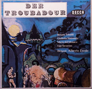 LP-Box - Verdi - Der Troubadour - Hardcover Box + Booklet