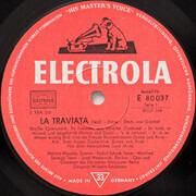 LP - Giuseppe Verdi , Melitta Muszely , Rudolf Schock , Josef Metternich , Karl Kohn - La Traviata (Großer Querschnitt)