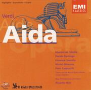 CD - Verdi - Aida (Highlights • Querschnitt • Extraits) (Muti)
