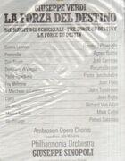 LP-Box - Verdi - G. Sinopoli w/ Philharmonia Orchestra - La Forza Del Destino - Hardcoverbox