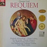 Double LP - Giuseppe Verdi/ Philharmonia Orchestra London , Carlo Maria Giulini, E. Schwarzkopf a.o. - Requiem