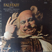 LP-Box - Verdi - Falstaff - Hardcover Box + Booklet