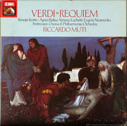 Double LP - Giuseppe Verdi , Renata Scotto , Agnes Baltsa , Veriano Luchetti , Evgeny Nesterenko , The Ambrosia - Requiem - Hardcover Box