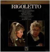 LP - Giuseppe Verdi , Rundfunkchor Leipzig , Staatskapelle Dresden , Siegfried Kurz - Rigoletto