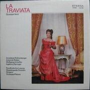 LP - Giuseppe Verdi , Staatskapelle Dresden , Giuseppe Patanè - La Traviata - Black label