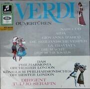 LP - Giuseppe Verdi , Tullio Serafin , Philharmonia Orchestra - Verdi Ouvertüren