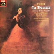 LP-Box - Giuseppe Verdi , Victoria De Los Angeles , Carlo Del Monte , Mario Sereni , Tullio Serafin - La Traviata - Hardcover Box + Booklet with Libretto