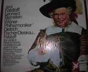 LP-Box - Verdi/ Wiener Philharmoniker,Wiener Staatsopernchor , L. Bernstein, Fischer-Dieskau - Falstaff - velvet box