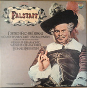 LP-Box - Giuseppe Verdi , Wiener Philharmoniker , Wiener Staatsopernchor , Leonard Bernstein - Falstaff - Hardcover Box