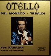 LP-Box - Verdi - von Karajan / Renata Tebaldi - Otello - Hardcoverbox + Booklet