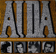 LP - Verdi - Aida • Grosser Querschnitt In Italienischer Sprache