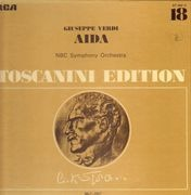 LP-Box - Giuseppe Verdi - Aida / Toscanini Edition - Hardcover Box + Booklet with Libretto