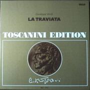 Double LP - Giuseppe Verdi / Arturo Toscanini - La Traviata - Hardcover Box + Booklet
