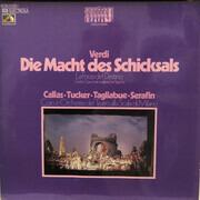 LP - Verdi (Callas, Serafin) - Die Macht Des Schicksals (Großer Querschnitt, ital.)