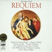Double LP - Giuseppe Verdi / Elisabeth Schwarzkopf - Christa Ludwig - Nicolai Gedda - Nicolai Ghiaurov - Philha - Requiem