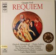 Double LP - Giuseppe Verdi / Elisabeth Schwarzkopf - Christa Ludwig - Nicolai Gedda - Nicolai Ghiaurov - Philha - Requiem - Hardcover Box