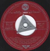 7inch Vinyl Single - Giuseppe Verdi ; Licia Albanese , Jan Peerce - Traviata Highlights