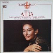 LP-Box - Giuseppe Verdi / Maria Callas , Richard Tucker , Fedora Barbieri , Tito Gobbi , Tullio Serafin , Co - Aïda