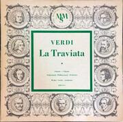 LP - Giuseppe Verdi / Nederlands Philharmonisch Orkest / Walter Goehr - La Traviata