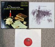 LP-Box - Giuseppe Verdi / Orchestra Del Teatro Dell'Opera Di Roma And Coro Del Teatro Dell'Opera Di Roma Con - La Traviata - booklet with libretto