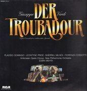 LP - Giuseppe Verdi / Placido Domingo - Der Troubadour